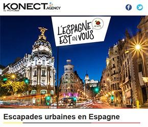 Escapades urbaines en Espagne