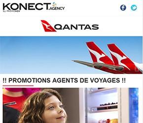 Qantas | Promotions AGV et Nouveautés