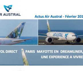 Air Austral : Samedi 11 juin 2016 : VOL* DIRECT VERS MAYOTTE
