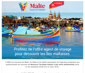Voyagez à Malte à prix agent de voyage
