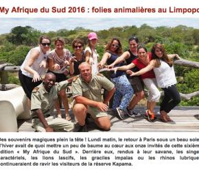 My Afrique du Sud 2016 : folies animalières au Limpopo